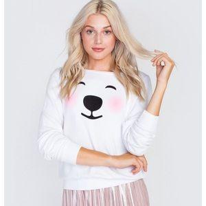 NWT RARE WILDFOX Polar Bear Sweater